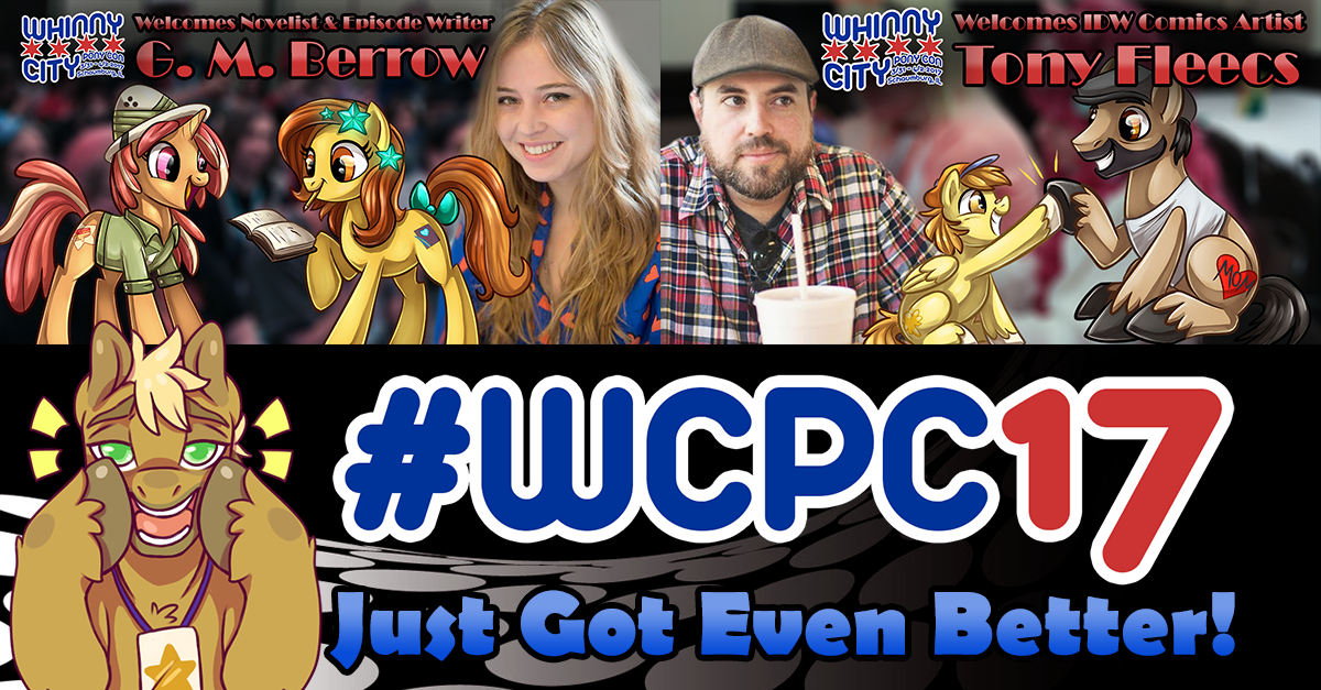 WCPC17 Just Got Even Better Thanks To G. M. Berrow and Tony Fleecs!