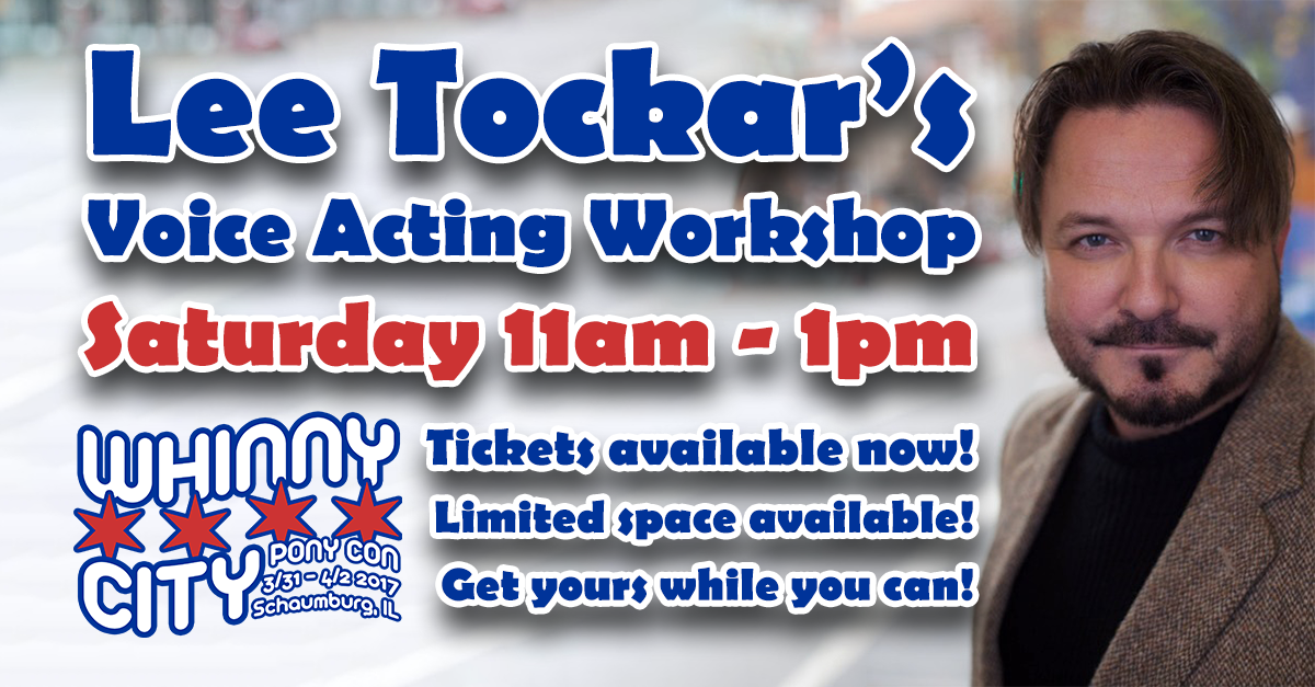 Lee Tockar's Voice Acting Workshop